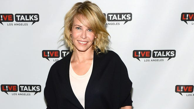 GLENDALE, CA - MARCH 11:  Television host Chelsea Handler poses at the 'Live Talks Los Angeles Presents An Evening With Chelsea Handler In Conversation With Gwyneth Paltrow' held at the Alex Theatre on March 11, 2014 in Glendale, California.  (Photo by Mark Davis/Getty Images)