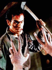 Bruce Campbell as Ash in the 1987 Sam Raimi horror