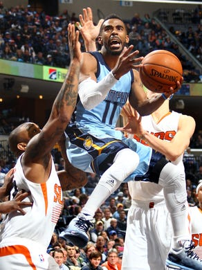 January 11, 2015 -  Memphis Grizzlies Mike Conley (11)