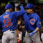 Cubs break out early, even World Series with Indians