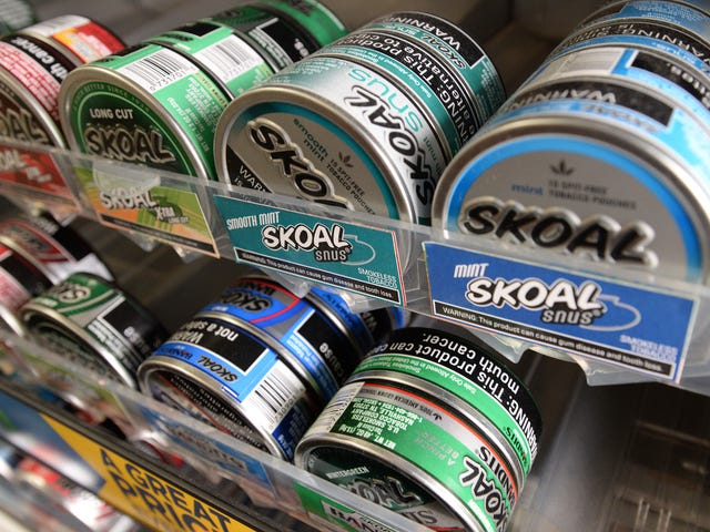 Instead of dip or cigs, some Shreveporters turn to snus