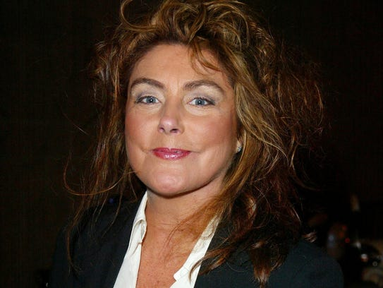 Singer Laura Branigan arrives at the book release party