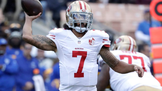 Colin Kaepernick is the best free agent quarterback on the market for the New England Patriots.