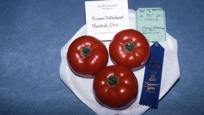 Follow the show schedule when entering all specimens. A tomato entry must have three tomatoes, same size, without blemishes and with or without stems.