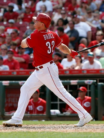 Cincinnati Reds right fielder Jay Bruce has been on