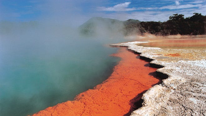 Rotorua is known for its spectacular hot springs.