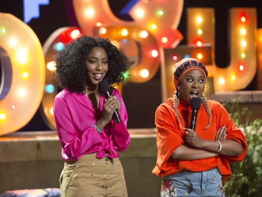 Jessica Wililams, left, and Phoebe Robinson are bringing