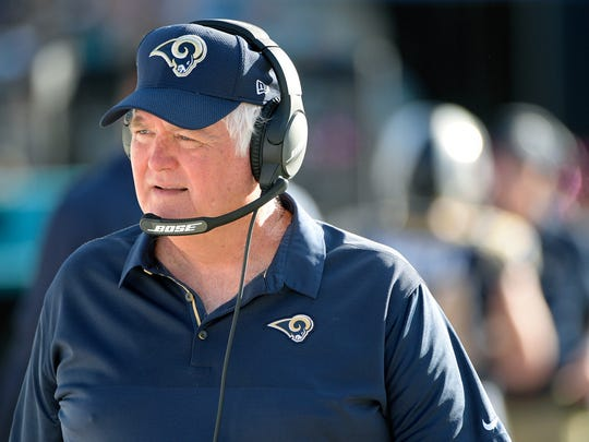 Wade Phillips today is defensive coordinator for the Los Angeles Rams.