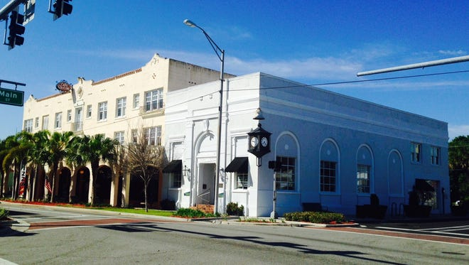 These buildings on the 300 block of South Washington Street in downtown Titusville are targeted for a space-focused technology company's East Coast regional office, with apartments on the upper floors.