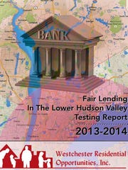 The cover page of the fair-lending report
