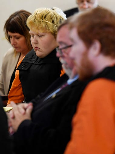 Krystal and Joseph Daniels appear for their preliminary hearing Monday, June 4, 2018 in Dickson County General Sessions Court. The couple is accused of killing their son, Joe Clyde Daniels.