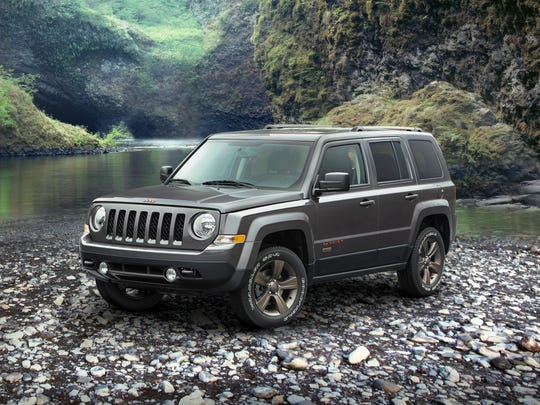 2016 Jeep Patriot 75th Anniversary edition.
