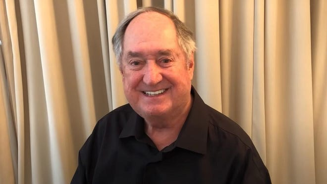 Neil Sedaka is shown performing a home mini-concert from Los Angeles in July.