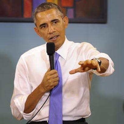President Barack Obama will speak Wednesday at Taylor