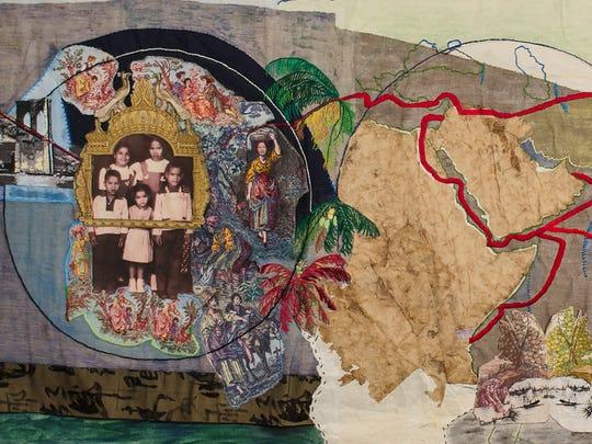 """The Silk Road - Tatagathagarba"" by Yoland Skeete"