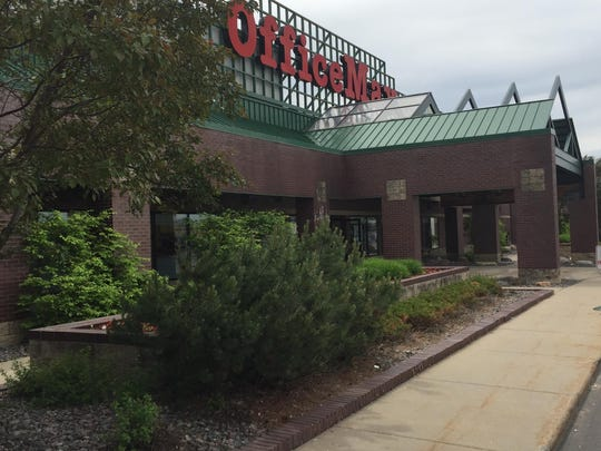 OfficeMax is one of the main tenants of the Westgate Shopping Center in St. Cloud. The shopping mall sits on the site that was once home to the stadium used by the St. Cloud Rox of the Class C Northern League.
