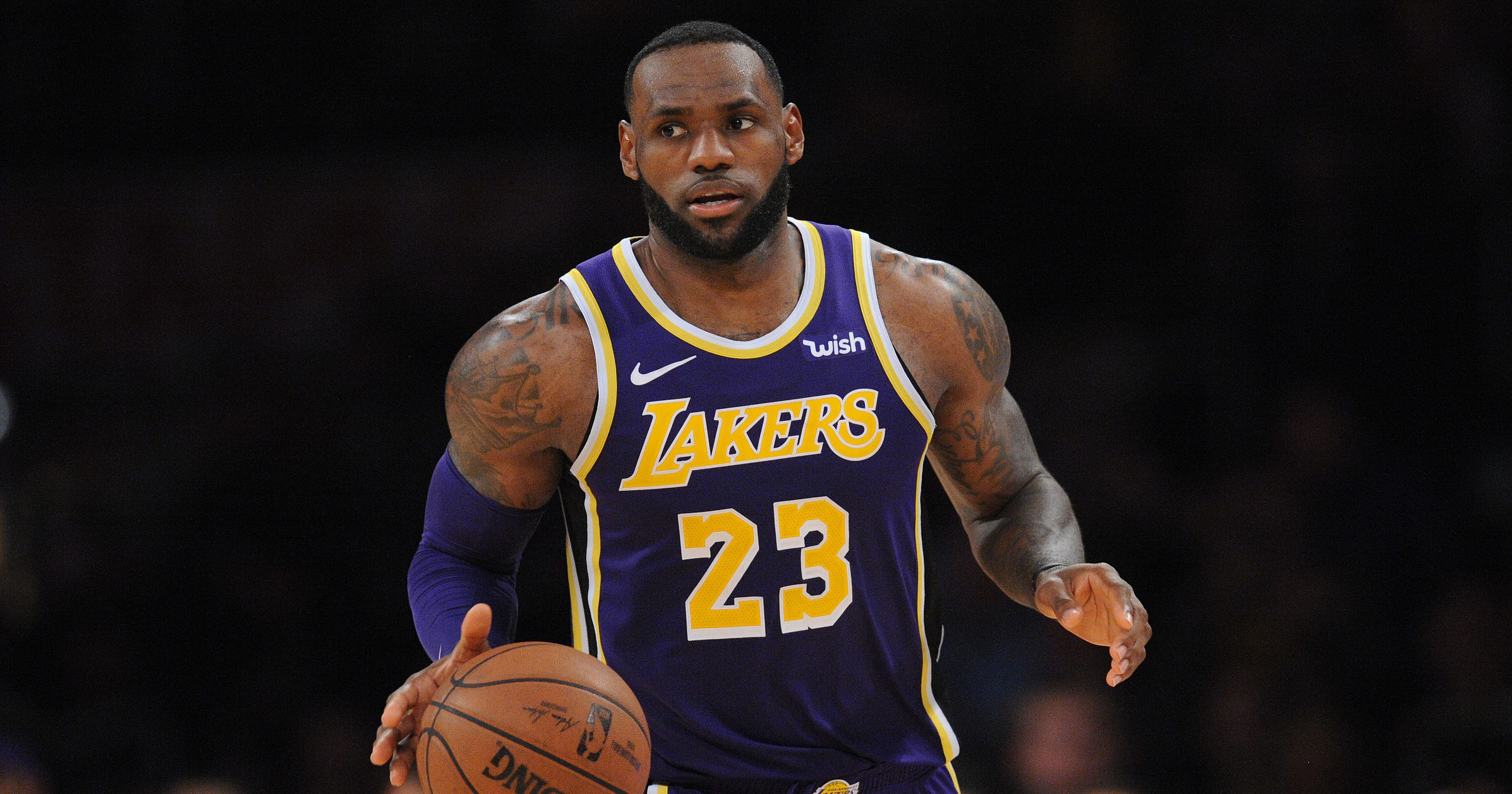 84a23ed6b7d1 LeBron James delivers emotional slam dunk about Michael Jordan   I wanted  to be like MJ