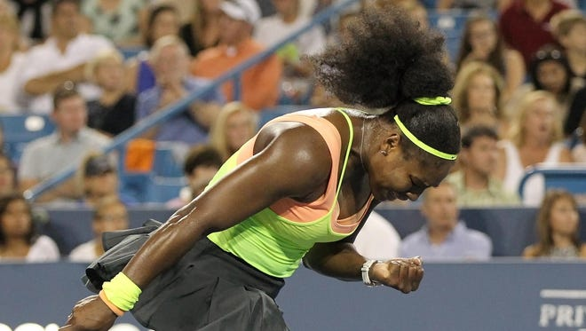 Serena Williams is 44-2 and holds all four Grand Slam titles. At the U.S. Open, she'll try to be the first player to win all four majors in the same year since Steffi Graf in 1988.