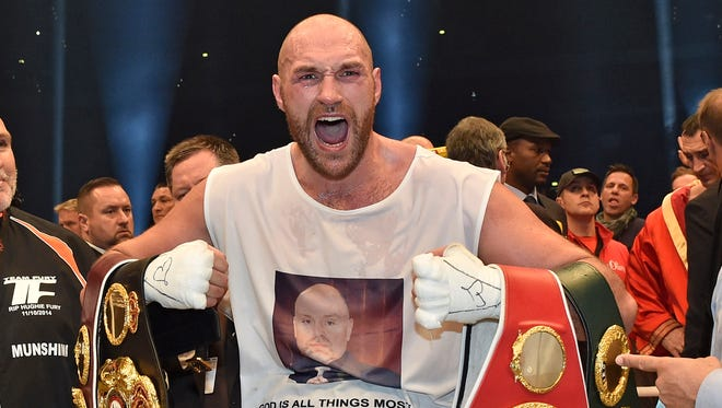 Tyson Fury has not fought since beating Wladimir Klitschko in November 2015 to win the WBA, IBF and WBO belts.