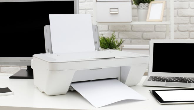 Depending upon the type of printer you have, you may very well have to take steps to ensure that your private information isn't still being stored in the device's internal memory.