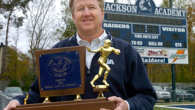 Jackson Academy football coach David Sykes stepped down from his position after seven seasons.