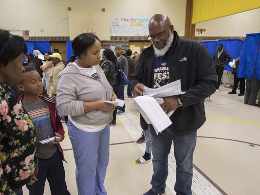 2016 Election Pennsylvania Voting