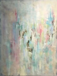 "Painter Merri Bundy's painting ""Celestial"" is part"