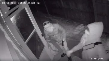 Dramatic security video shows armed home break-in on Milwaukee's south side