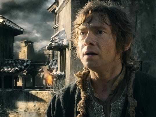 how bilbo baggins changed to become