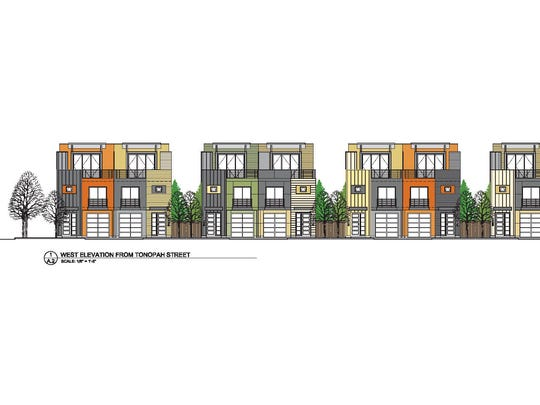 Early rendering of Tonopah Lofts, an S3 Development project in Midtown.