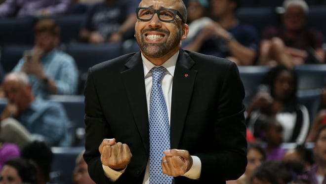 "Memphis Grizzlies head coach David Fizdale says ""I want the win. That's all I care about. These games count now."""