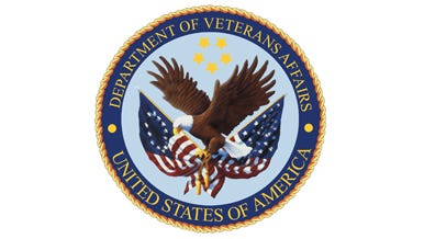 U.S. Department of Veterans Affairs logo.