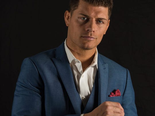 Cody Rhodes is the NWA champion and will defend the title on Saturday, Oct. 20 in Nashville.