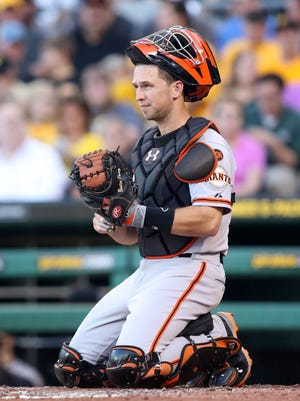 Buster Posey had a .318 average and drove in 95 runs last season.