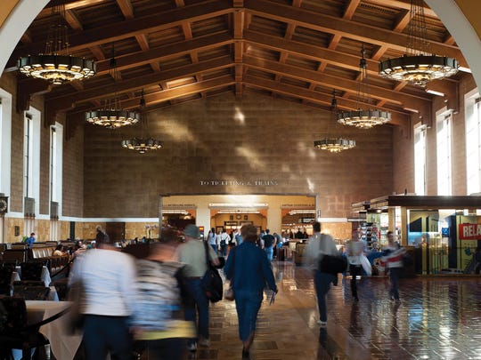 Even before you board your train, Union Station will fill your senses with history and beauty.