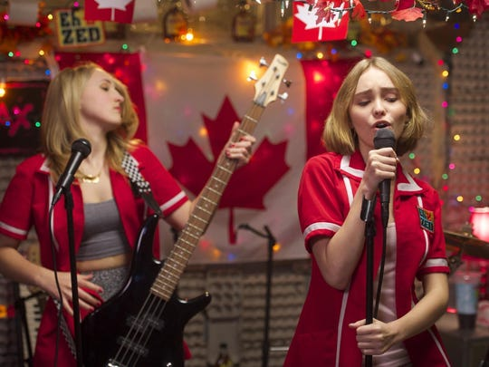 "Harley Quinn Smith (left) and Lily-Rose Depp in a scene from ""Yoga Hosers,"" screening Aug. 2 at the Count Basie Theatre in Red Bank."