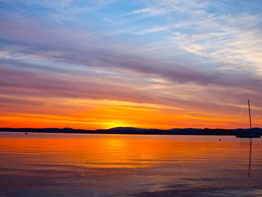 Lake Champlain in Colchester