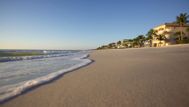 Beachfront property along Hickory Boulevard have most of the highest value in Bonita Springs.