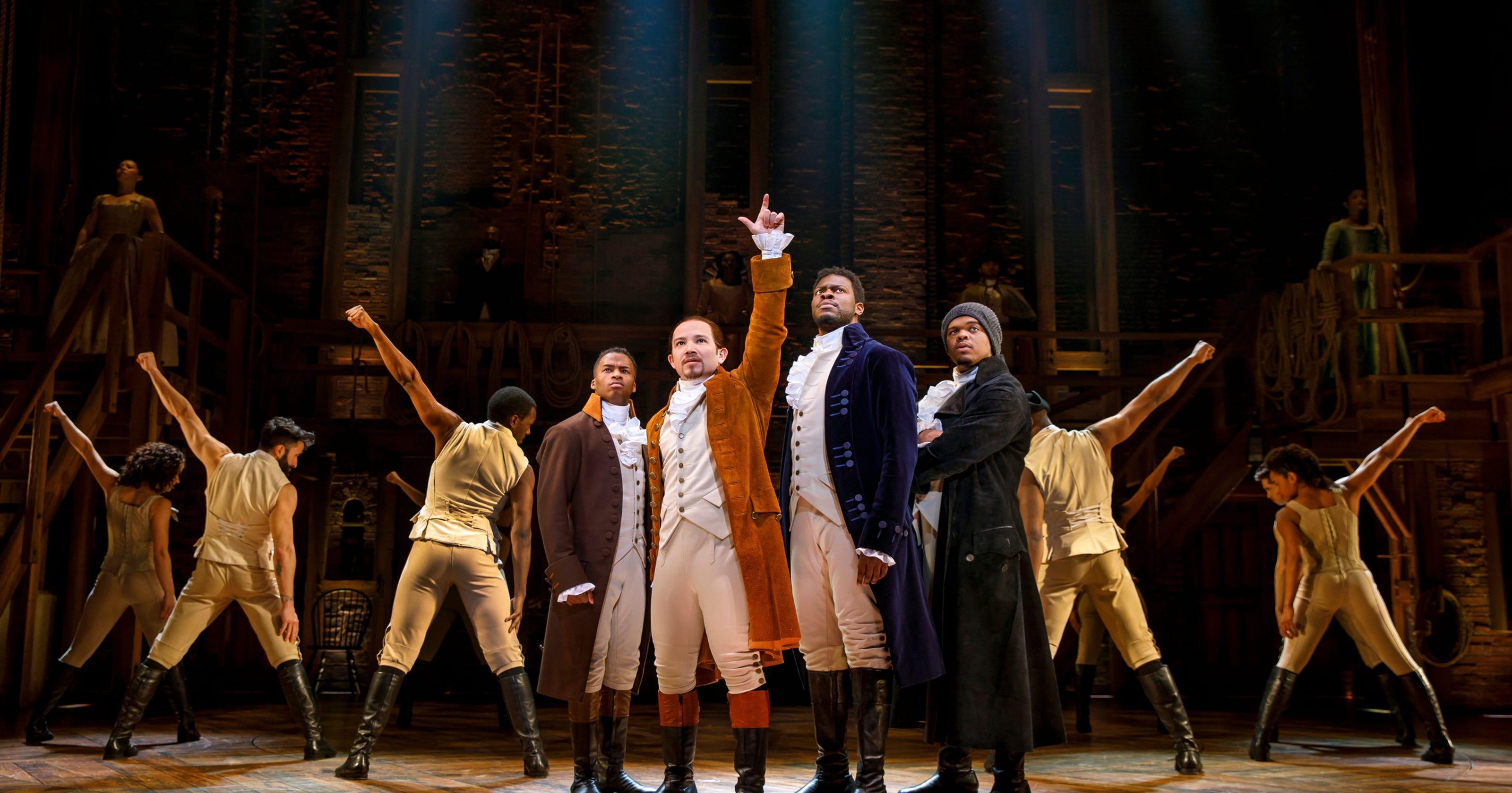 Hamilton,' 'Aladdin' lead Broadway in Detroit lineup for 2018-19