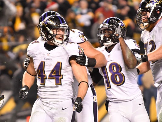 USP NFL: BALTIMORE RAVENS AT PITTSBURGH STEELERS S FBN USA PA