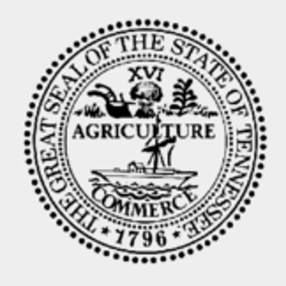 Tennessee state seal.
