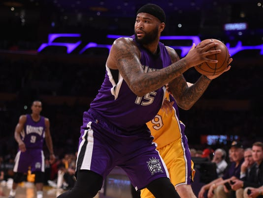 USP NBA: SACRAMENTO KINGS AT LOS ANGELES LAKERS S BKN USA CA