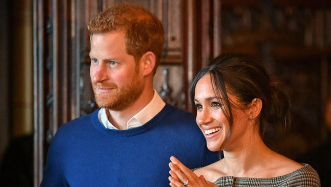 Prince Harry and Meghan Markle will wed in May.