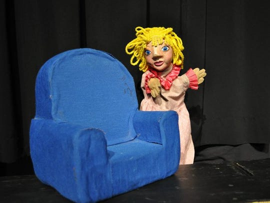 """""""Goldilocks and the Three Bears"""" production from Great"""