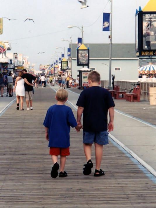 Strolling Down The Boardwalk