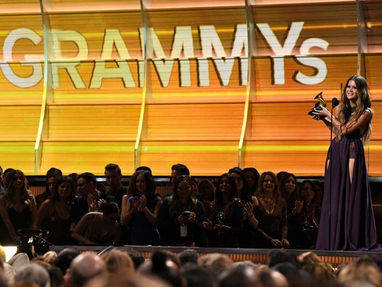 Entertainment: 59th Annual GRAMMY Awards