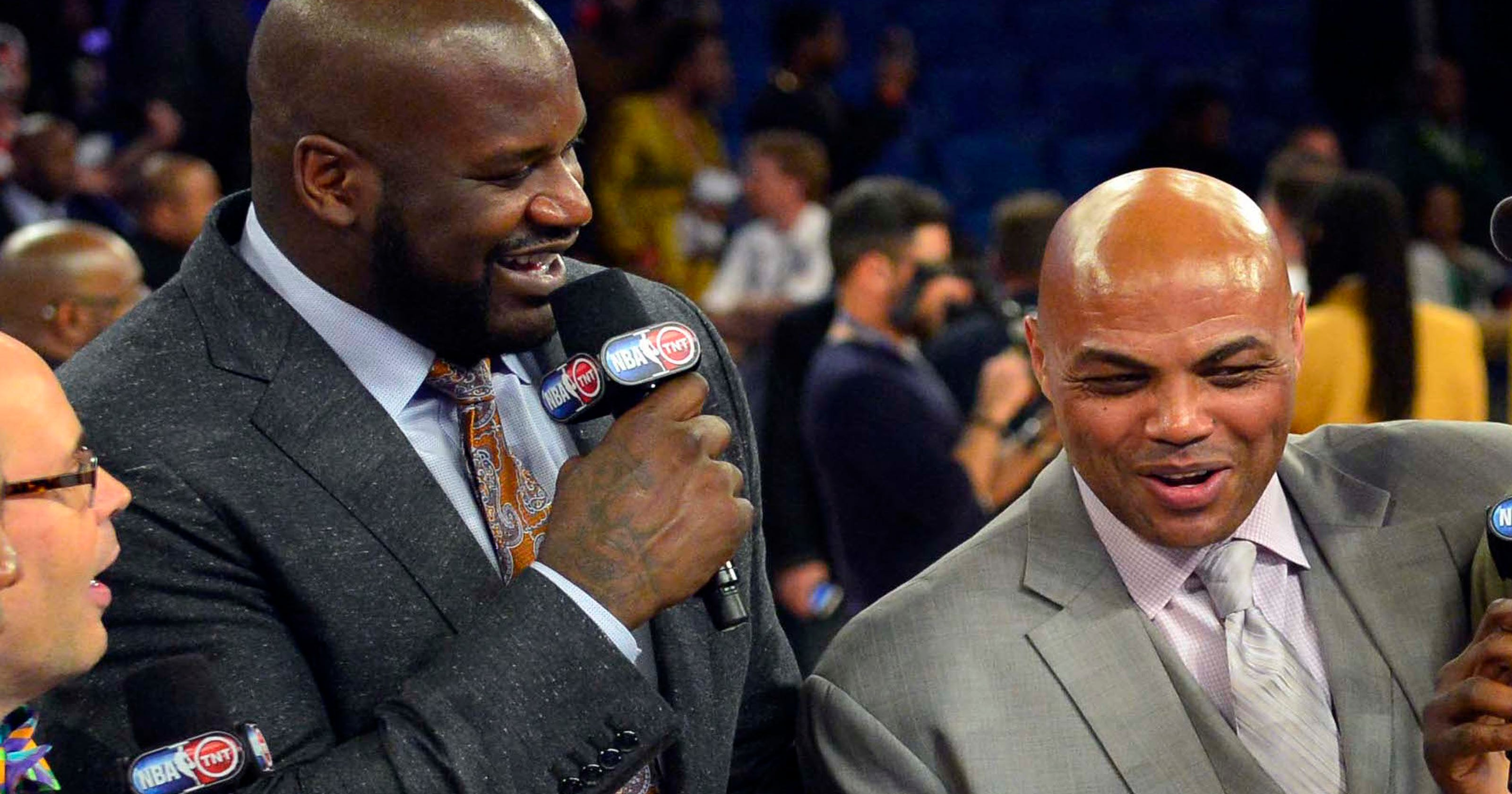 03209b628b47 Barkley and Shaq made up after heated argument