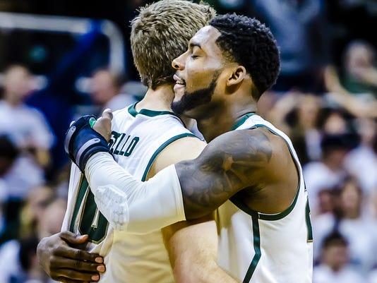 Dawson hugs Costello