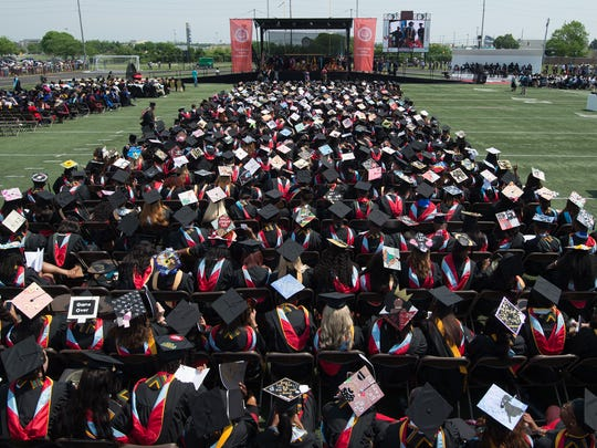 Delaware State University 132nd commencement ceremony
