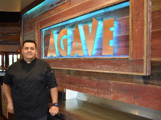 Israel Martinez Villalobos is executive chef at Agave in North Naples.